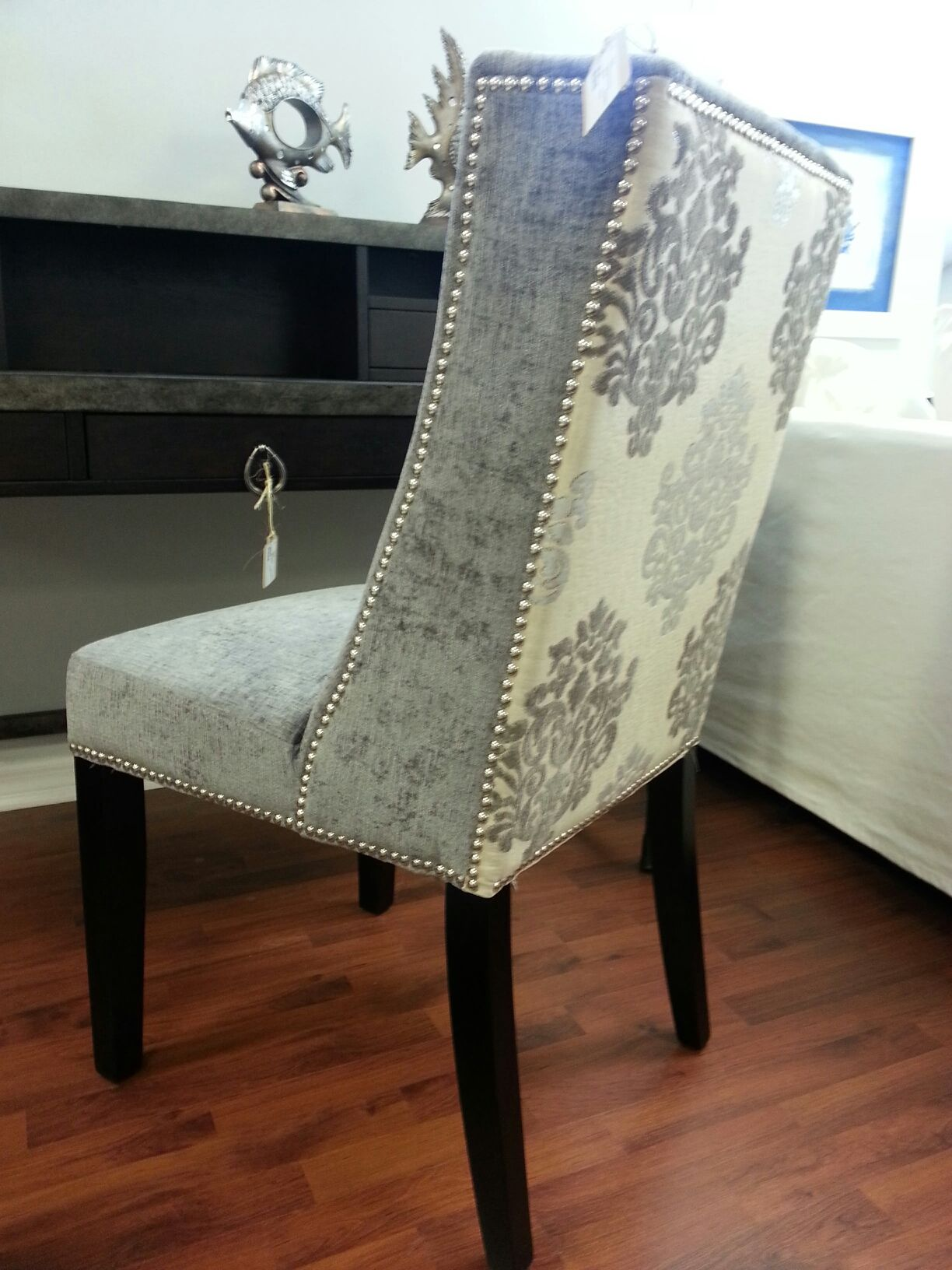 cynthia rowley nailhead accent chair zenergy ball replacement home decor pinterest chairs and