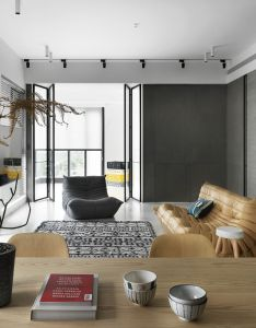 Gallery of chiang house books design also studio living rooms rh pinterest