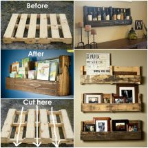 Pallet Shelf Ideas Easy Diy Video Tutorial
