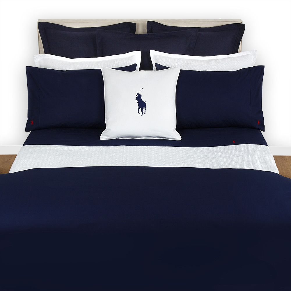 Polo Player Duvet Cover  Navy  Double  Duvet, Polos And