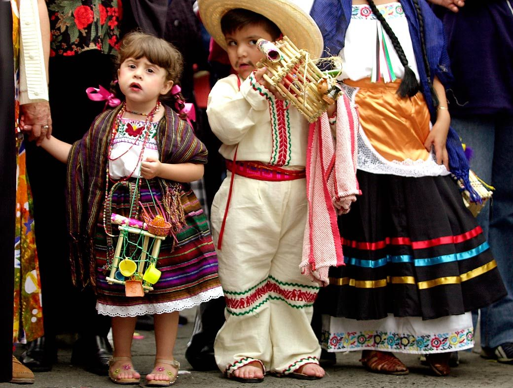 Trajes Tipicos Mexicanos Para Ninos