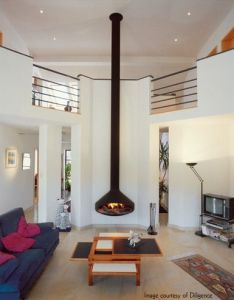Awsome fire place also for the home pinterest places interior rh