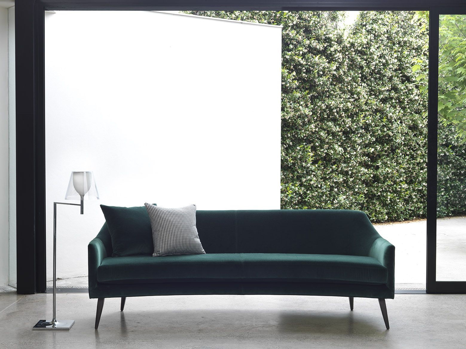 stanley sofa old decorating ideas by arthur g green velvet curved