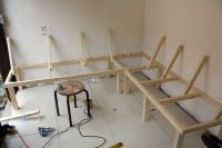 Build a Corner Booth Seating | bench for all seasons ...