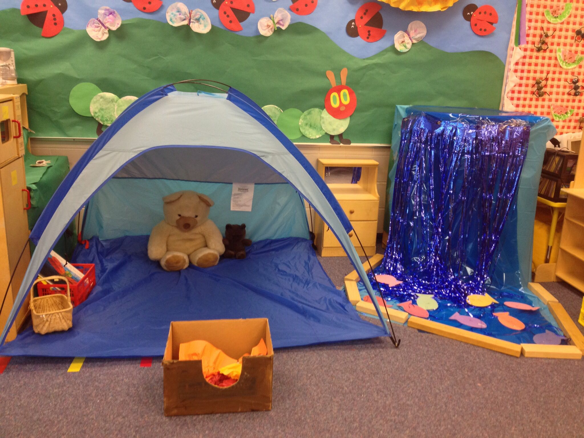 Camping Would Be A Fun Dramatic Paly Area The Children