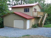 Metal Pole Barns with Living Quarters