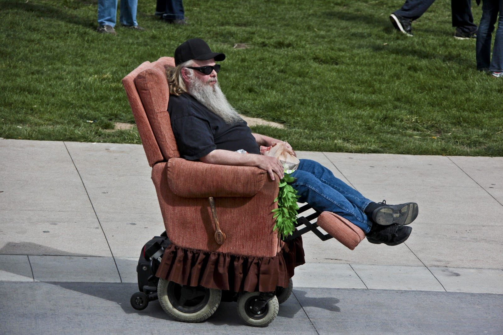 lazy boy electric chair repair reclining hospital wheelchair aa humor pinterest