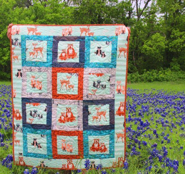 Quilt Kit Bear Fabric Bonnie Christine