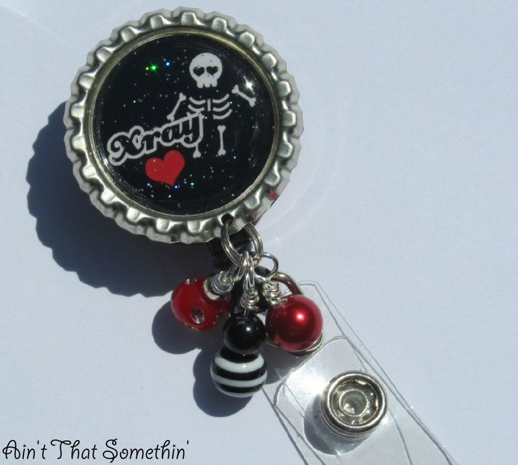 Xray Tech Department Retractable Badge Reel By