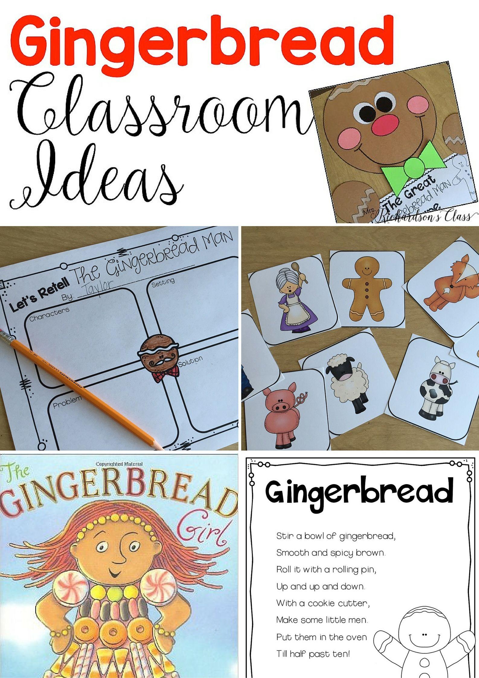 Gingerbread Classroom Ideas And A Freebie