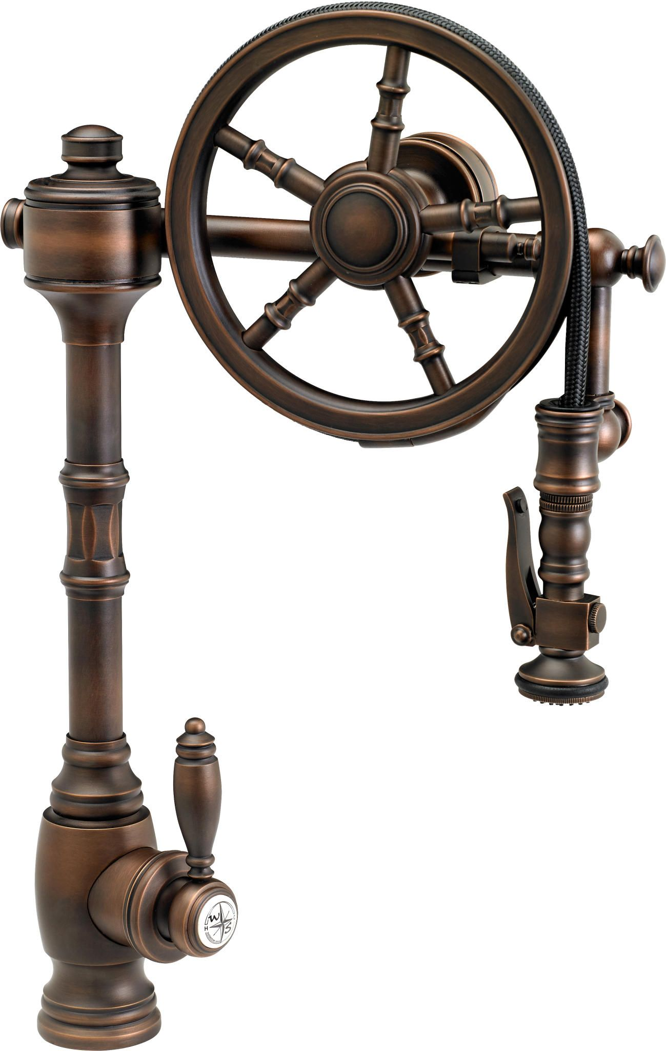 industrial faucet kitchen handles and knobs past future meet in steampunk decor