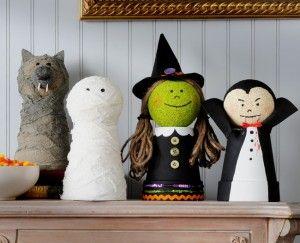 DIY Homemade Halloween Decorations Homemade Handmade