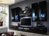 High Gloss TV Wall Unit - TV CABINETS / TV STAND / LIVING ...