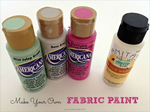 10 Paint Secrets How To Turn Any Into Fabric