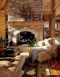 extremely cozy and rustic cabin style living rooms also log cabins rh pinterest