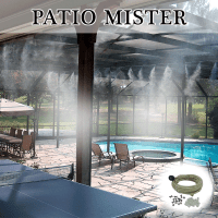 DIY Patio-Mister | Patio Cool Kit | Do-It-Yourself misting ...