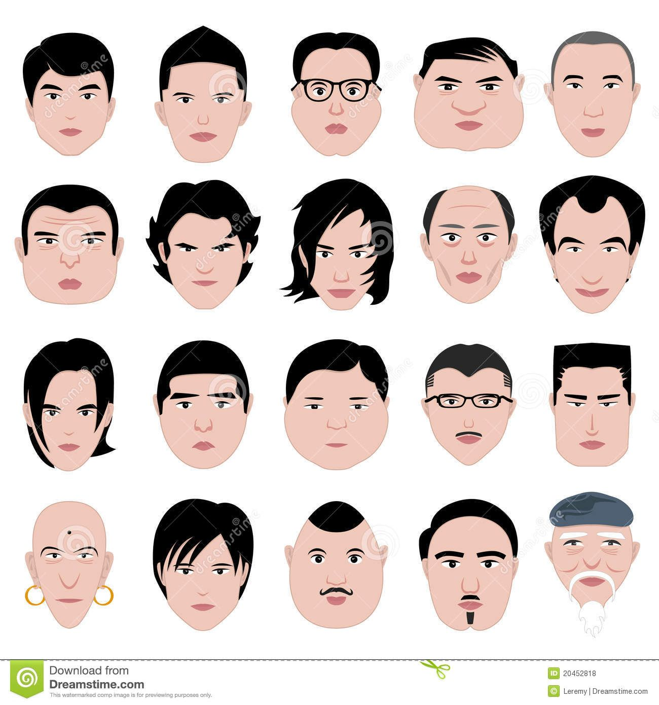 Hairstyles For Men According To Face Shape Hair Pinterest