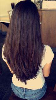 long deep espresso-brown hair