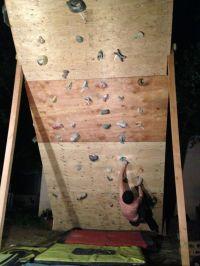 Backyard Climbing Wall | Yards, Walls and Backyard