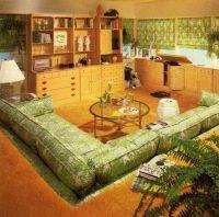 70s Sunken Living Room Pit   Vintage home and stuff ...