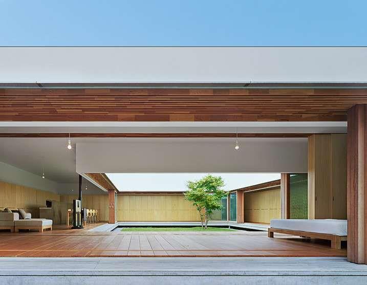 Ideas The Cloister Minimalist Japanese House Design By Tezuka