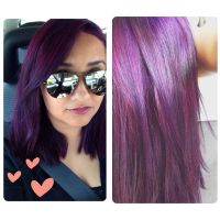 """I used """"Lusty Lavender"""" from the hair dye brand """"Splat ..."""