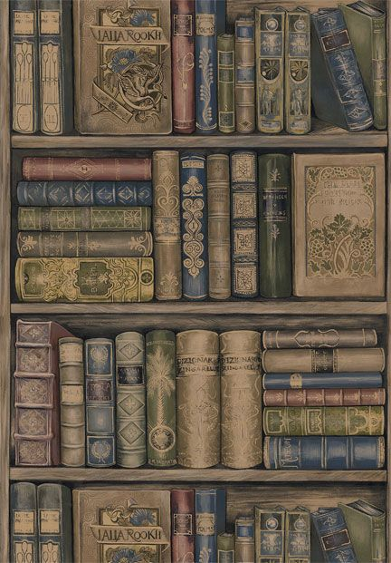 Book Wallpaper From Sherwin Williams Bookish Theme