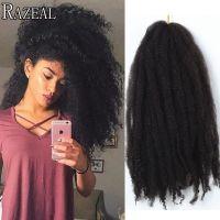 Razeal Hair Marley Braid Freetress Crochet Braids Hair ...