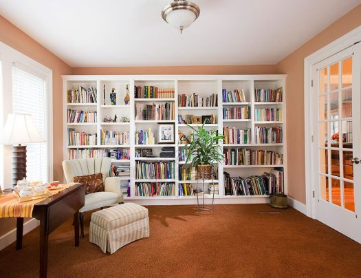 Would Be Fairly Simple To Do Like The E Above Bookshelves As Am Dealing Home Librarieswall