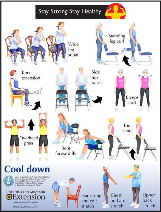 Chair Exercises Seniors Pdf