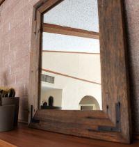 Rustic Wall Mirror - Wall Mirror - 18 x 24 Vanity Mirror ...