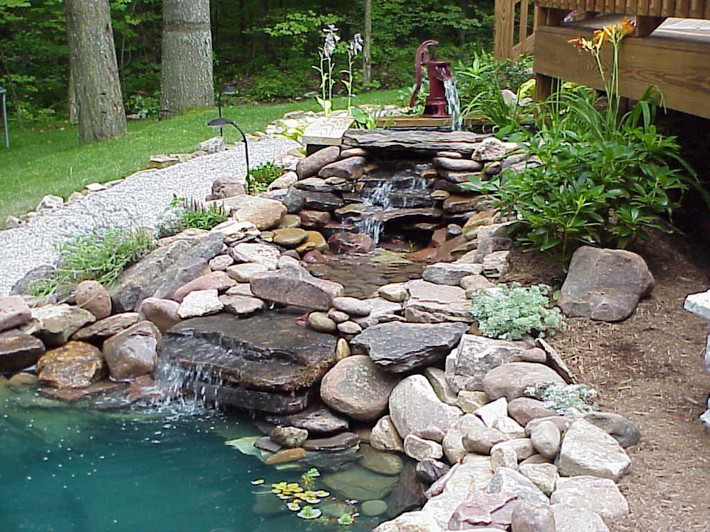 Backyard Ponds Backyard Landscaping Ideas Water Fountains