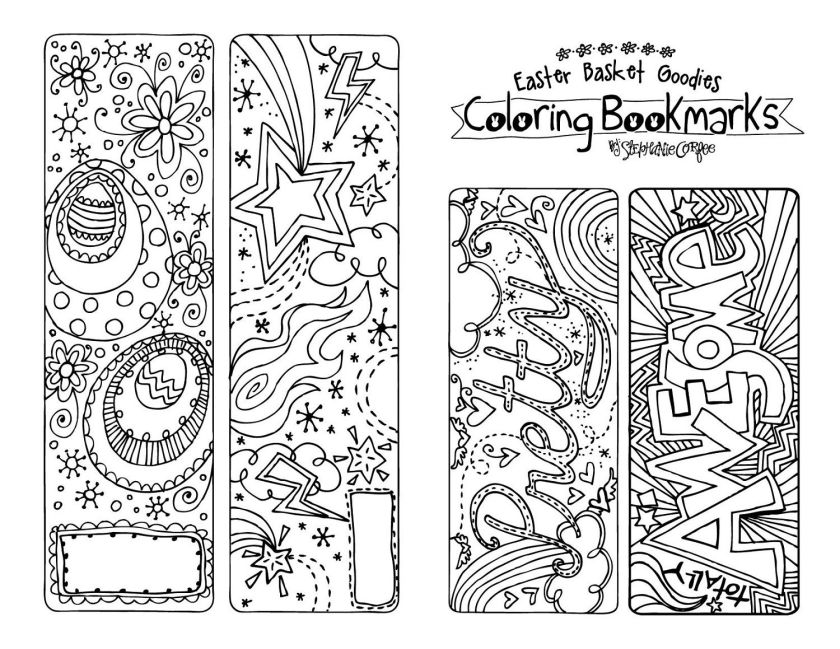 printable bookmarks for kid's cute bookmark  fancy stuff