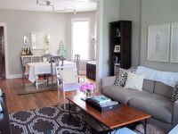 living room and dining room combined | Home Design Images ...