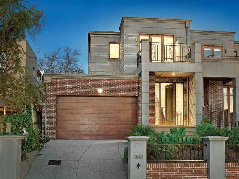 Photo Of A Rendered Brick House Exterior From Real Australian Home