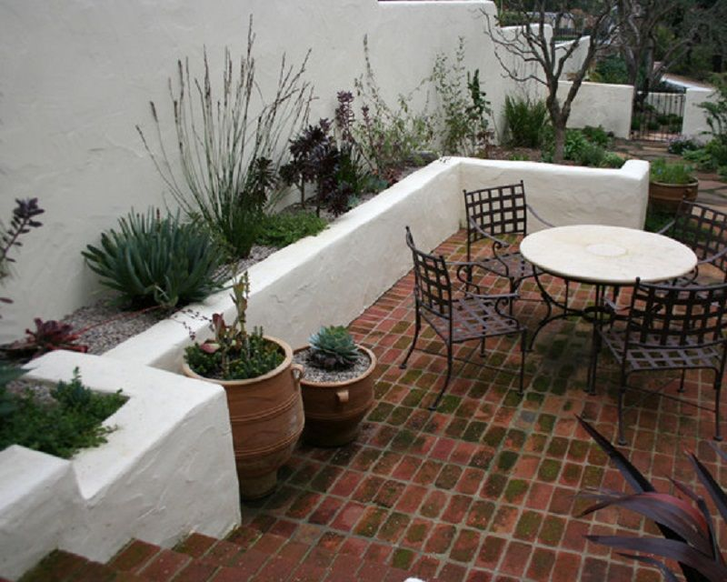 Spanish Courtyard Garden Patio Designer Best Patio Design Ideas