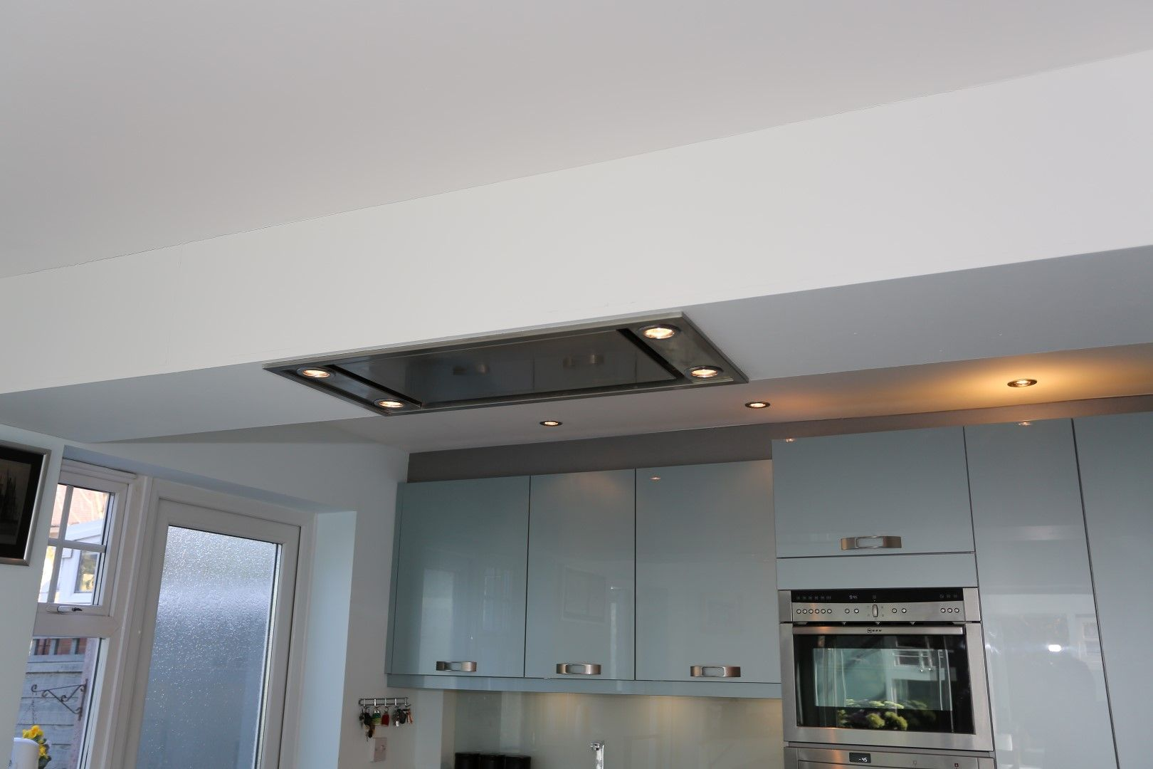 Ceiling Extractor recessed into suspended ceiling