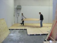 Sprung Floor Building at Our Dojos New Home | Pacific ...
