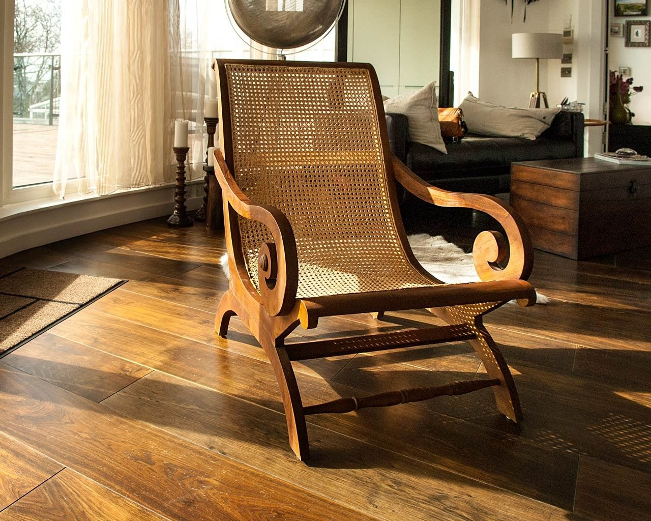 Accent Chairs Wood Arms