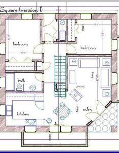 square foot house plans straw bale plan sq ft also rh de pinterest