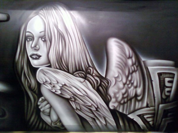 Awesome Airbrush Art Cars