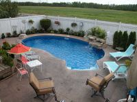 Pool Designs For Small Backyards | ... Backyard Decorating ...