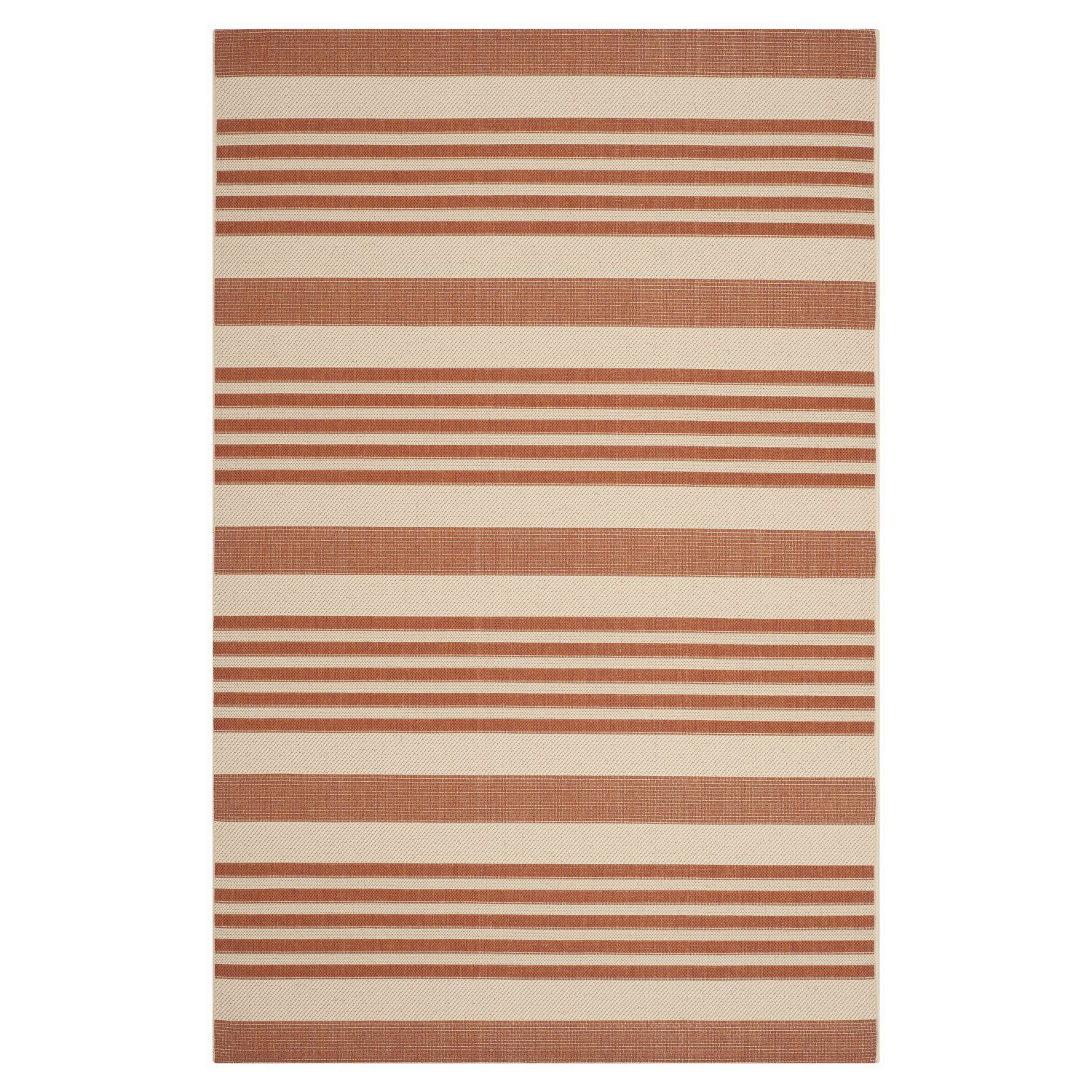 Outdoor Teppich Terracotta In Outdoorteppich Gemma Terracotta Beige 161 X 232 Cm