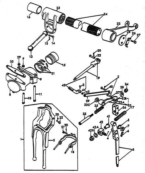 Ford 1910 Tractor Ignition Wiring Diagram Ford 8n Hyd Parts Hydraulic Lift Shaft Ideas For The