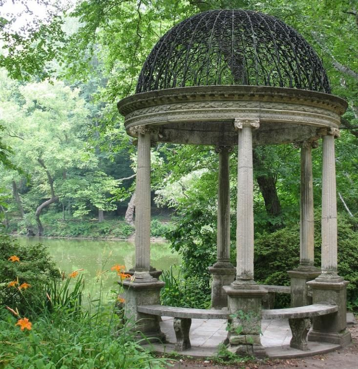 Gazebo Folly Temple Of Love Old Westbury Gardens Peggie Phipps