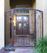Fouet - Wrought Iron Courtyard Entryway - Model: CE0240 ...