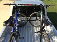 Swagman Pick-Up Truck-Bed-Mounted 2 Bike Carrier - Locking ...