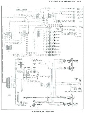 85 Chevy Truck Wiring Diagram    looking at the wiring