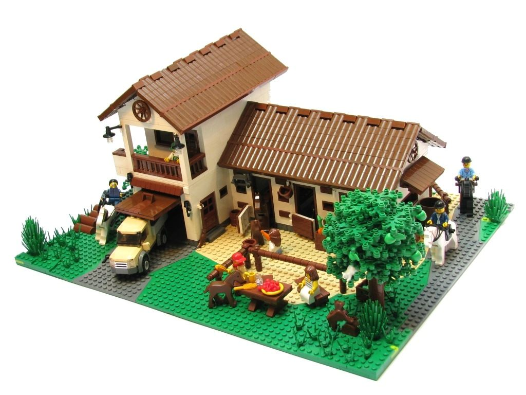 Simple Lego House Ideas Interior Design.