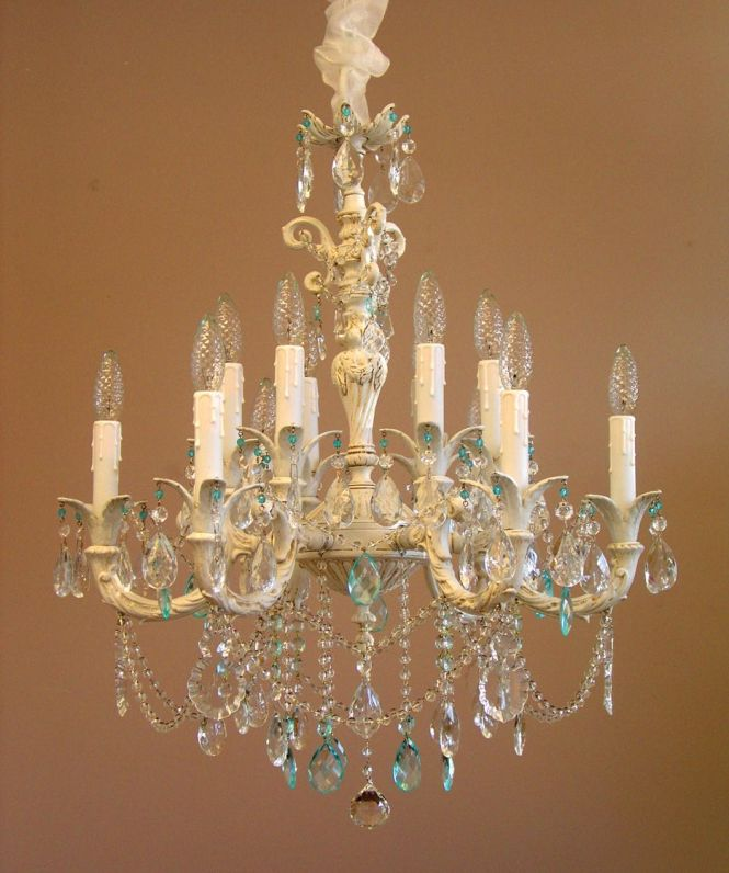 This Company Is Awsome They Make All Of Their Shabby Chic Chandeliers Custom To Your Liking